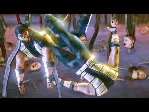 Mortal Kombat XL - All Stage Fatalities on Tremor Classic Costume Mod 4K Ultra HD Gameplay Mods