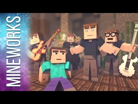 "♫ ""Mining Ores"" - The Minecraft Song Parody of OneRepublic's Counting Stars (Music Video)"