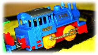 "VIDEO FOR CHILDREN ""Blue Train Western Express"" My First Toy Railway"