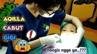 Aqilla Nangis Ga Ya? Pengalaman Pertama Cabut Gigi ♥ Berkunjung Ke Dokter Gigi Dentaland