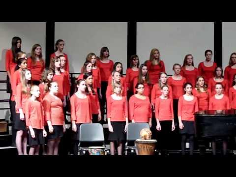 Fuyu no uta (Rachel Stenson) - CCHS Choralaires in concert 2011-12-14