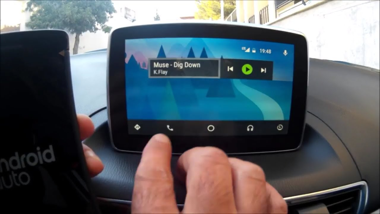 MAZDA CONNECT ANDROID AUTO CALLS FIX