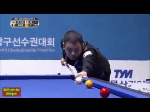 Frederic Caudron vs. JaeHo Cho | 3 Cushion Billiards World Championship