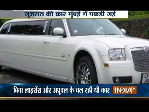 RTO Officials Recover Modified Scorpio Cars in Mumbai