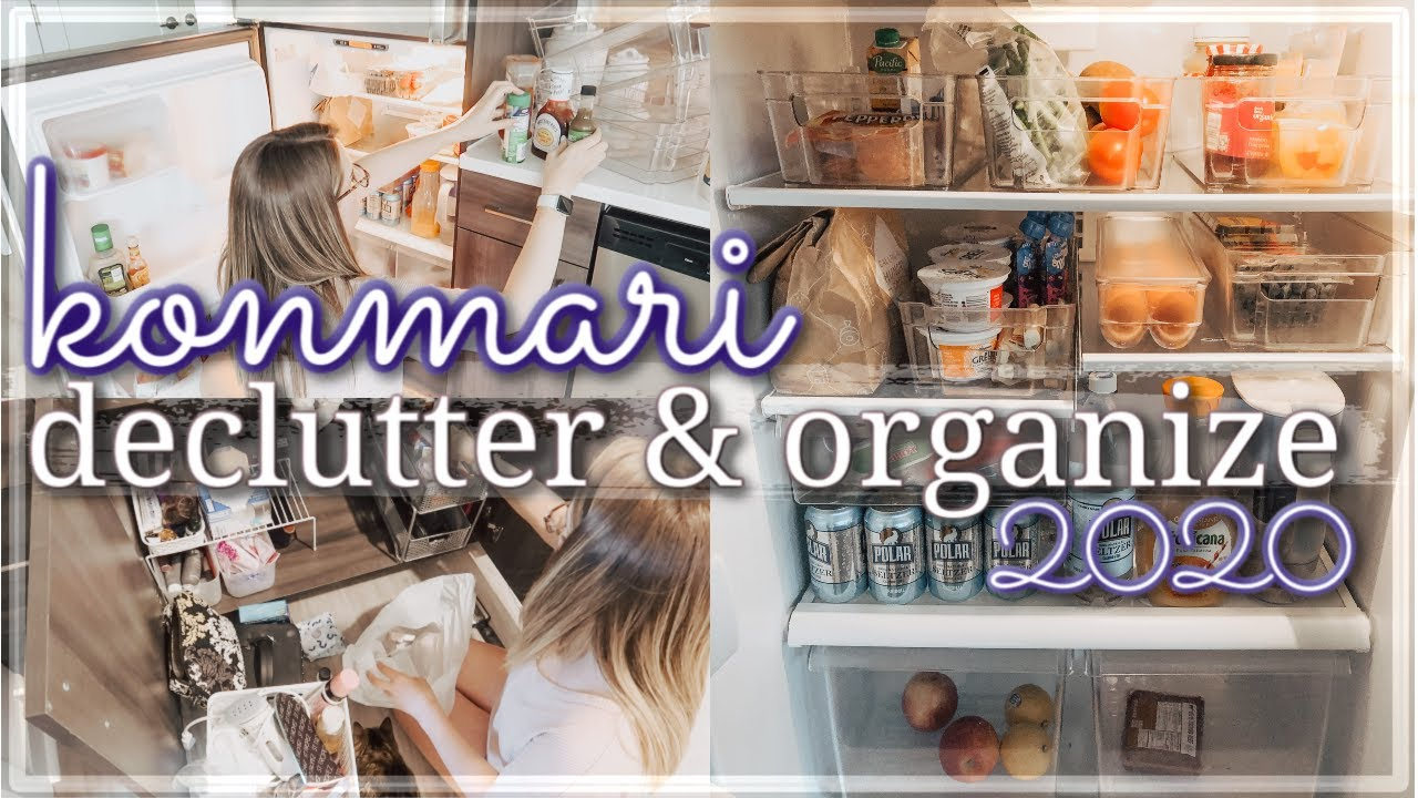 EXTREME CLEAN, DECLUTTER, & ORGANIZE WITH ME 2020 / KONMARI DECLUTTERING & ORGANIZING MOTIVATION