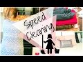SPEED CLEANING MY HOUSE | Power Hour Cleaning Routine