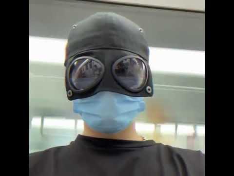 CPMAX 飛行員鴨舌帽 棒球帽 網紅兩戴帽 韓版酷潮 防曬遮陽帽 釣魚帽 新款飛行帽 遮陽帽 帽子 防曬帽【H264】