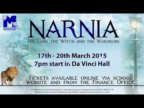 Narnia Production Promo 2015 - The Marlborough Science Academy