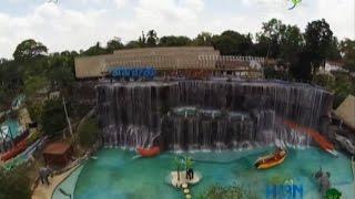La Hacienda Nápoles tiene las cataratas artificiales más grandes del mundo en un parque acuático
