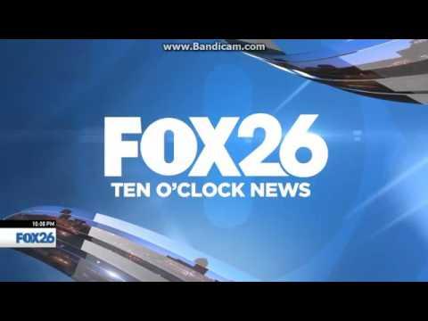 KMPH Fox 26 Ten O'Clock News open September 15, 2016