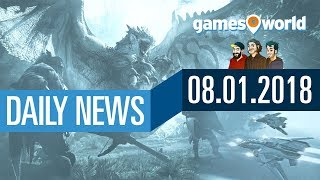 Star Citizen, Resident Evil 8, Monster Hunter World | Gamesworld Daily News - 08.01.2018