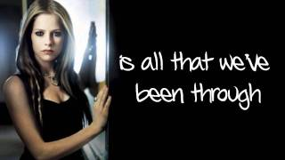 Avril Lavigne - I Love You (Lyrics) New Song 2011