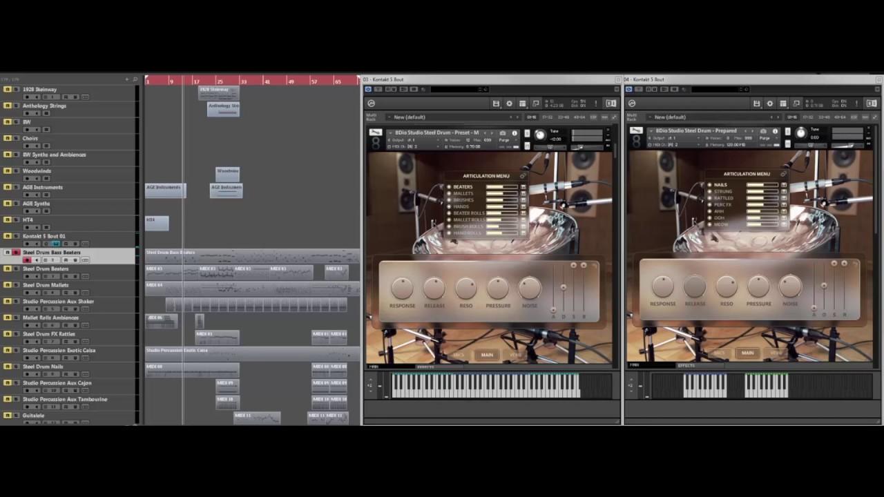 8Dio Studio Steel Drum Walkthrough by 8dioproductions