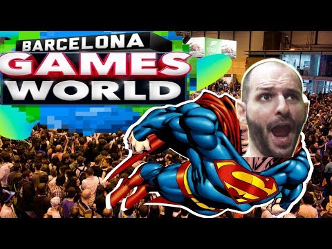 ¡¡¡MI AVENTURA EN LA BARCELONA GAMES WORLD!!! - Sasel - Nintendo Switch - Pc - Feria - Ps4