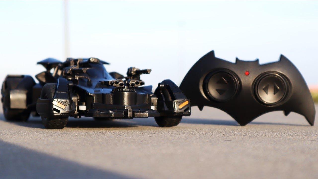 Batman Vs Superman Justice League Batmobile Rc Car Youtube