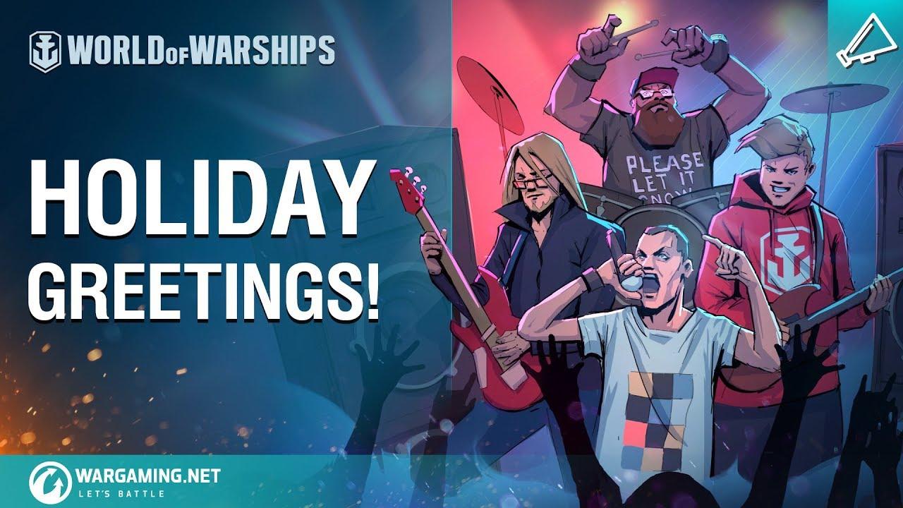 World of Warships – Holiday Greetings!