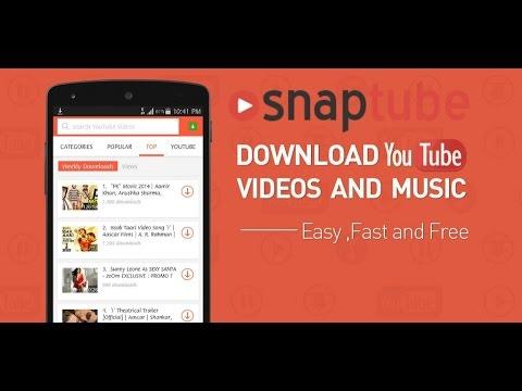 SnapTube/App Vorstellung✔ KOSTENLOS VIDEOS UND MUSIK RUNTERLADEN!!:o