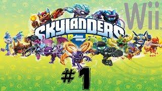 Skylanders SWAP Force (Wii) Episode 1 - Chapter 1: Mount Cloudbreak 1/3