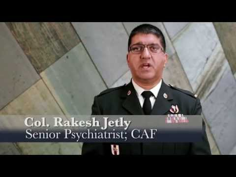 Col Rakesh Jetly, Mental Health Advisor, Department of National Defence