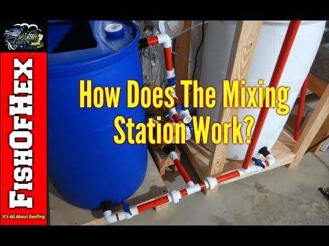 Walkthrough Of The Saltwater Mixing Station | Making Salt Water & Filling ATO