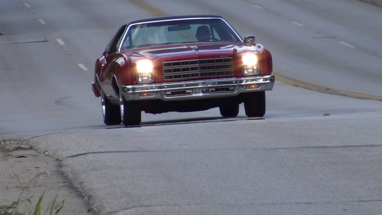 2016 Chevy Monte Carlo >> 1977 Chevy Monte Carlo classic test drive - YouTube