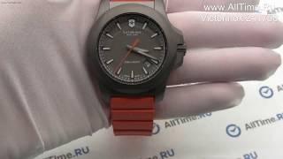 Обзор. Швейцарские титановые наручные часы Victorinox 241758
