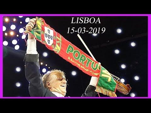 ANDR� RIEU - LISBOA 2019 - MEM�RIAS QUE FICAM