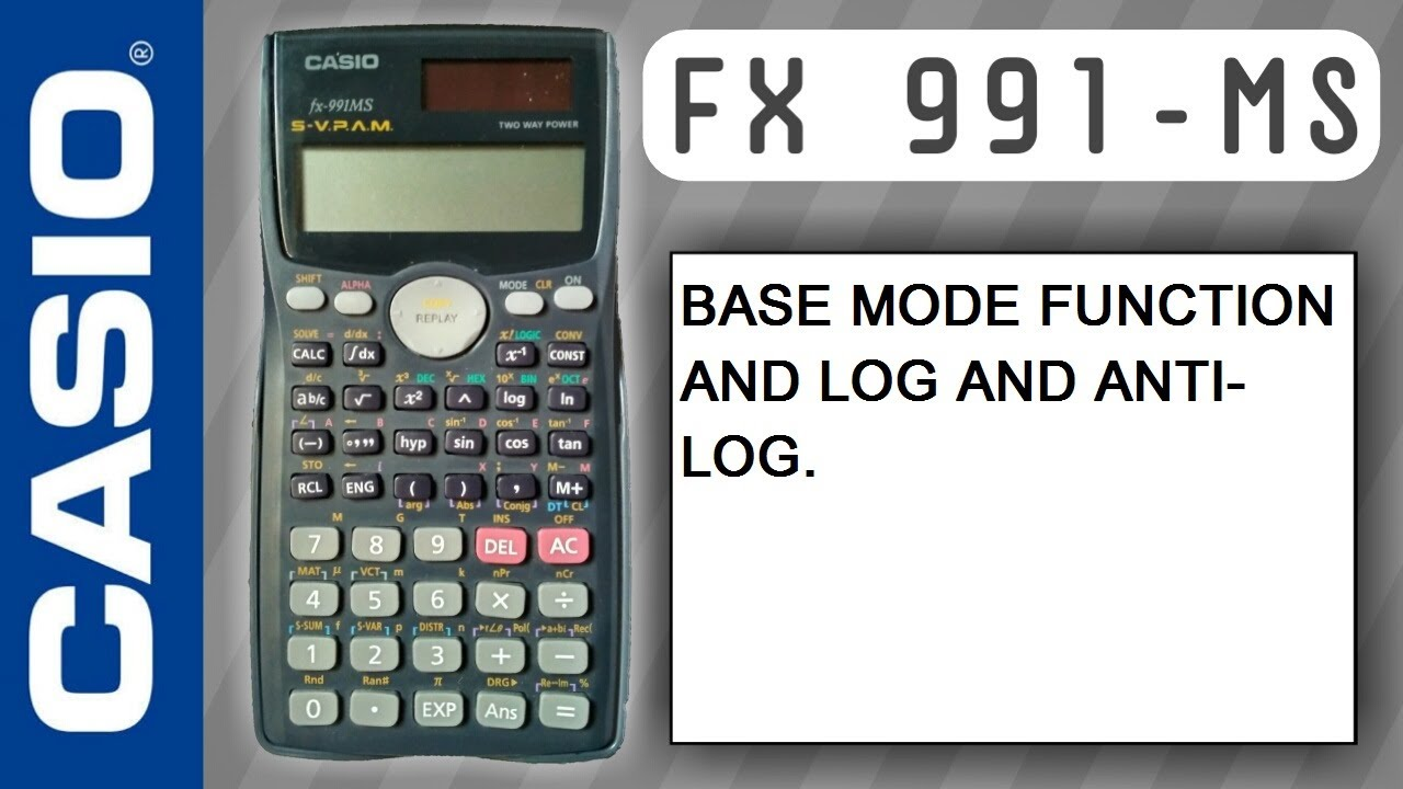 Solved: how can i solve log and antilog in casio fx991ms fixya.