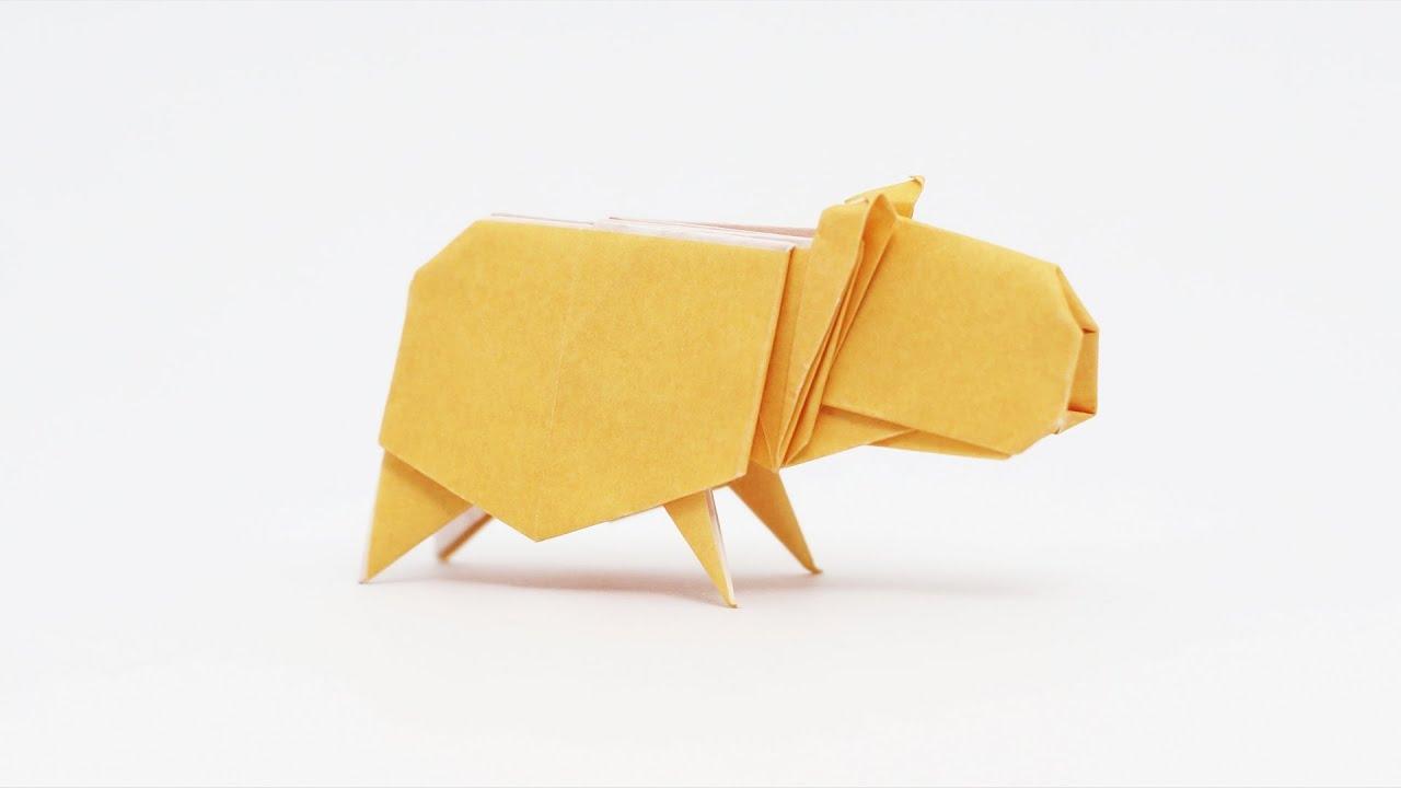 Papercraft Origami Capybara (Jo Nakashima)