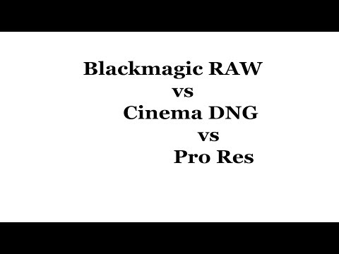 Blackmagic RAW with downloads - YouTube
