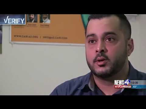 Video: CAIR-Arizona Director Responds to Islamophobic Rant, Trespassing at Mosque