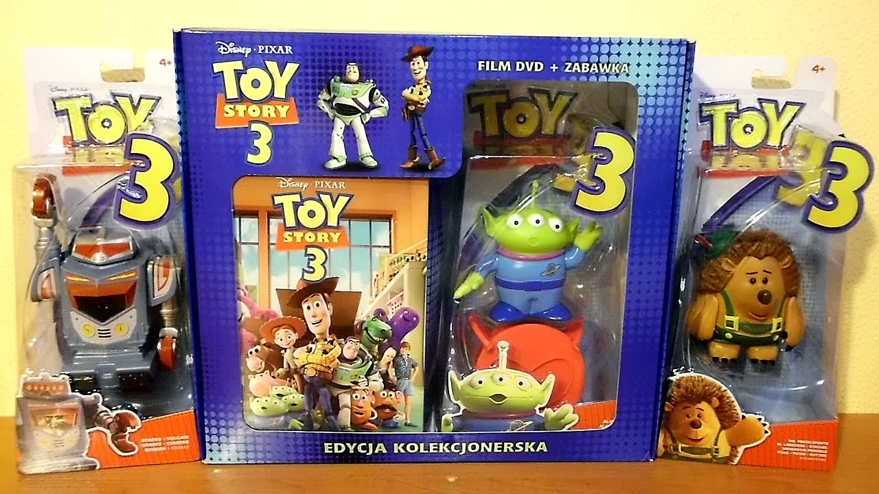 Toy Story Action Figures Set : Toy story movie dvd collector s edition box set with basic