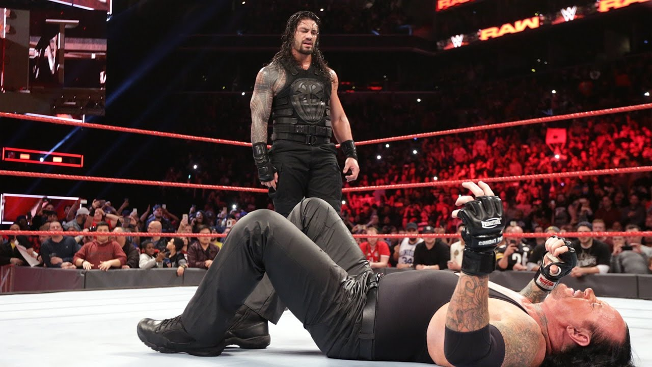 roman reigns message to the undertaker youtube