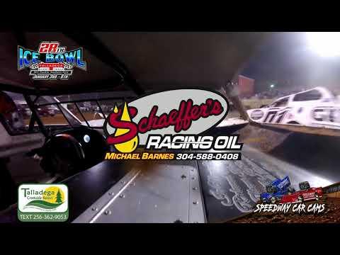 #99 Shun Oreo Thomas - 602 Sportsman - 1-6-19 Talladega Short Track - In Car Camera