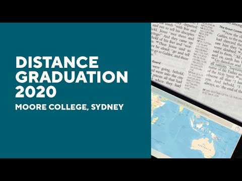 Moore Distance Graduation 2020