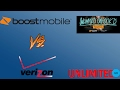 New Verizon Unlimited Data Vs Boost Mobile Unlimited Data (HD)