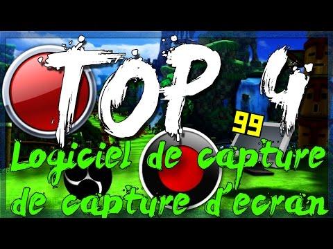TOP 4 des LOGICIELS DE CAPTURE DE JEUX/ D'ÉCRAN POUR YOUTUBEUR