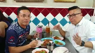 各位觀眾今日食真啲!帶大家睇睇Silom路上一間 [米芝蓮星呢] 豬手飯店!
