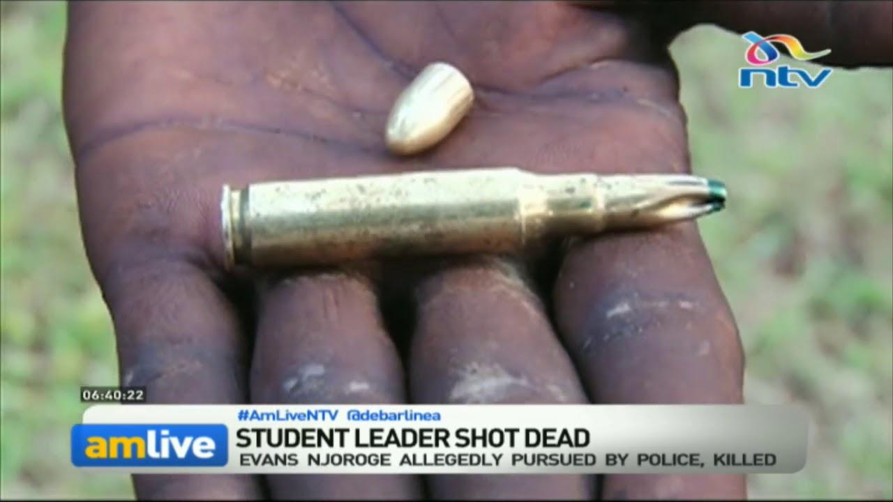 Meru University student leader shot dead by police during protests