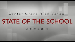2021 CGHS State Of The School