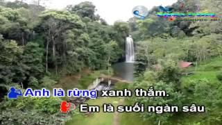 [KARAOKE HD Song Ca Nam Nữ] Tình Ca Tây Bắc