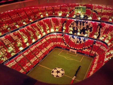 Allianz Arena scale model (Full timelapse)