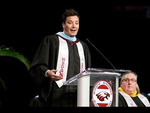 [FULL SPEECH] Jimmy Fallon Surprise Speech at Parkland's Graduation Class 2018
