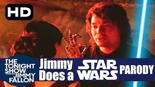 Jimmy Fallon Star Wars Parody
