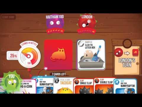 Exploding Kittens Mobile App Youtube