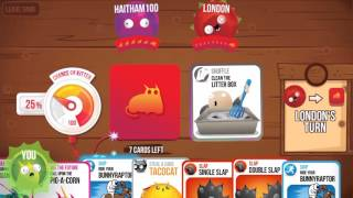 Exploding Kittens Gameplay (iOS / Android)
