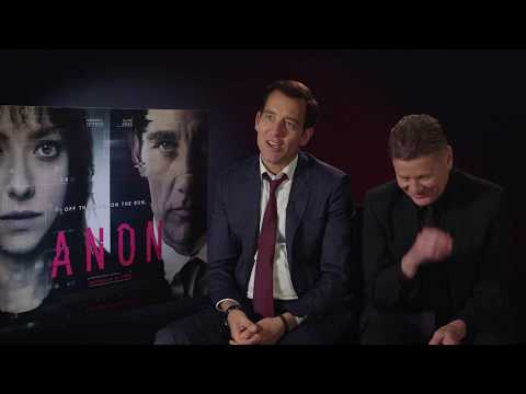 Anon: Clive Owen and Andrew Niccol talk technology