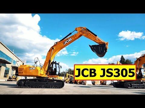 JCB JS305 — обзор 30-тонного экскаватора
