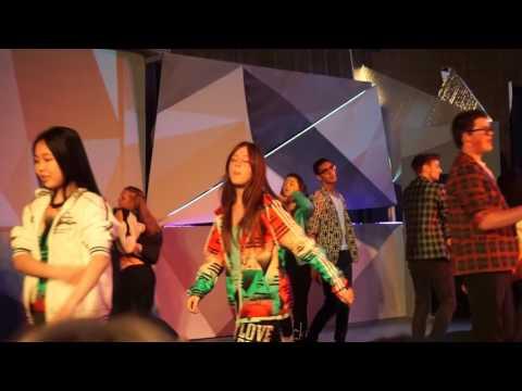 Michael Raphael Dance Show at Pacifica Christian High School