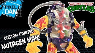 Teenage Mutant Ninja Turtles Custom Painted Mutagen Man Figure Ninja Turtles Review